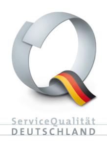 Siegel für Servicequalität in Deutschland
